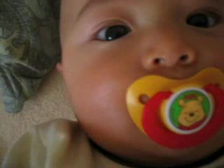 kai with pacifier 2
