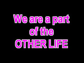 We are a part of THE OTHER LIFE